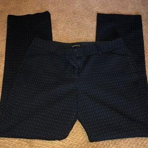 Black Express Bootcut Trousers